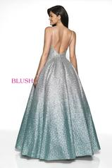 5723 Silver/Mint Ombre back