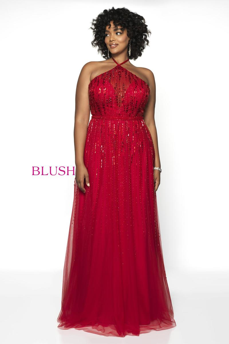 Blush W Plus size Prom 11756W