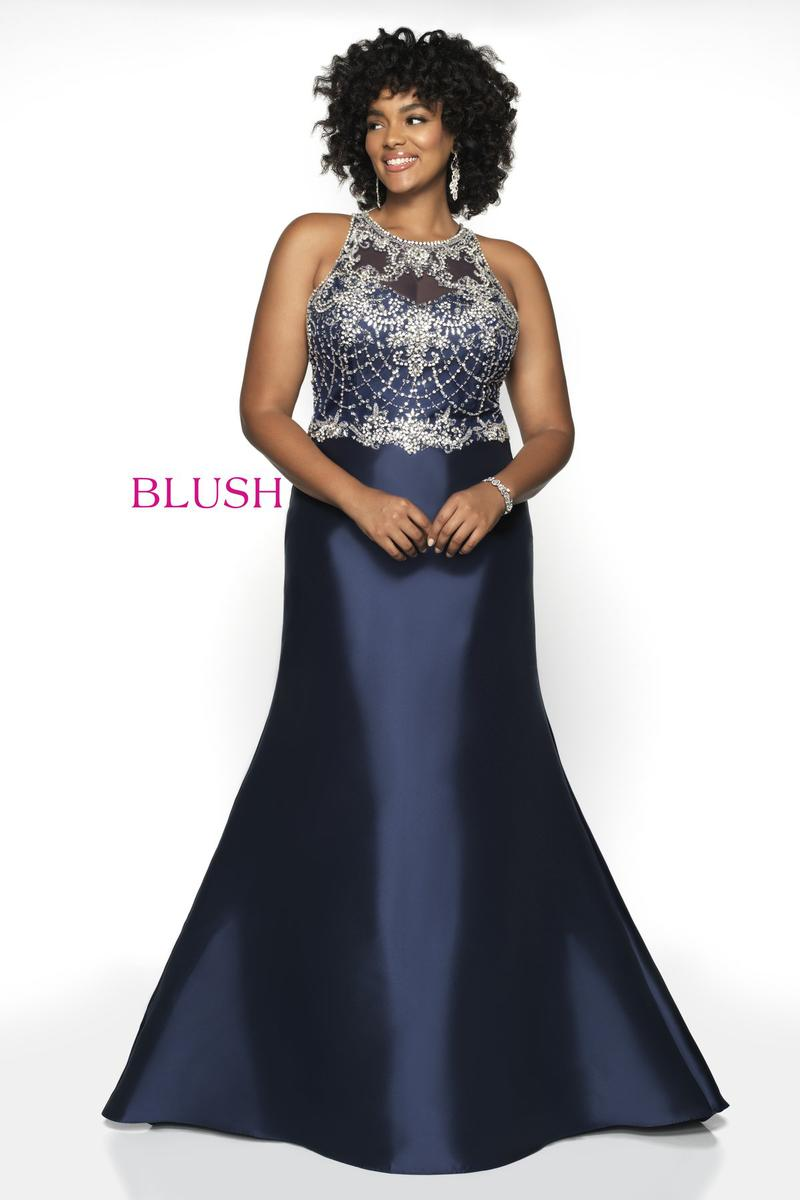 Blush TOO Plus size Prom 11784W