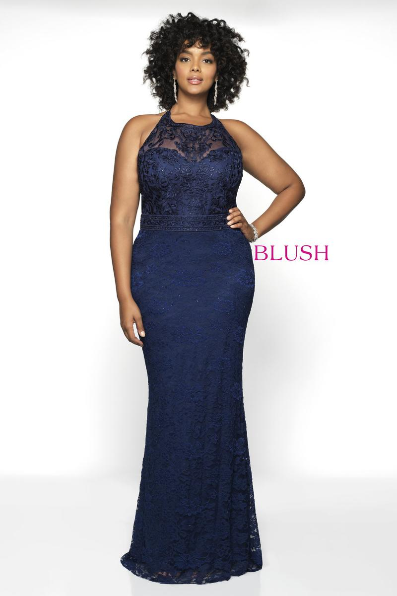 Blush W Plus size Prom 11797W