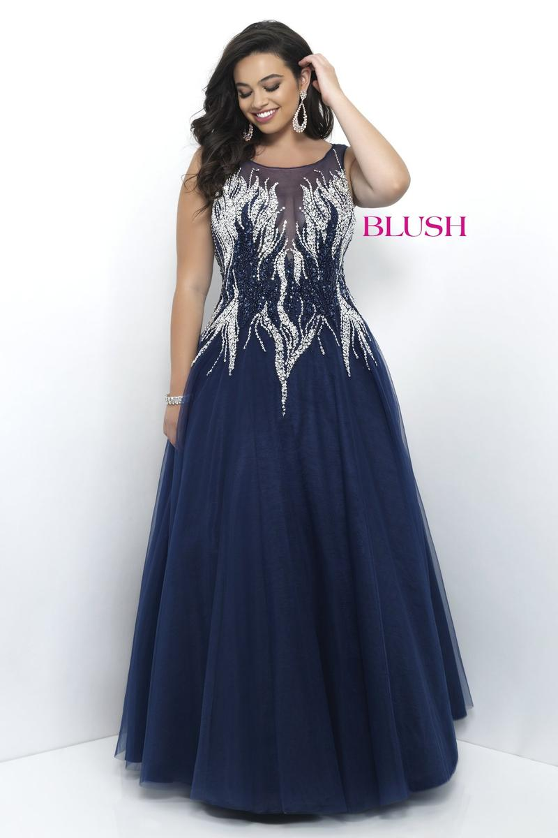 Blush W Plus size Prom 9306W Bella Boutique - The Best Selection of ...