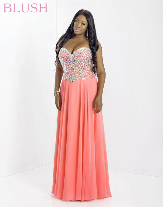 Blush Prom - Plus Size Kimberly\'s Prom and Bridal Boutique ...