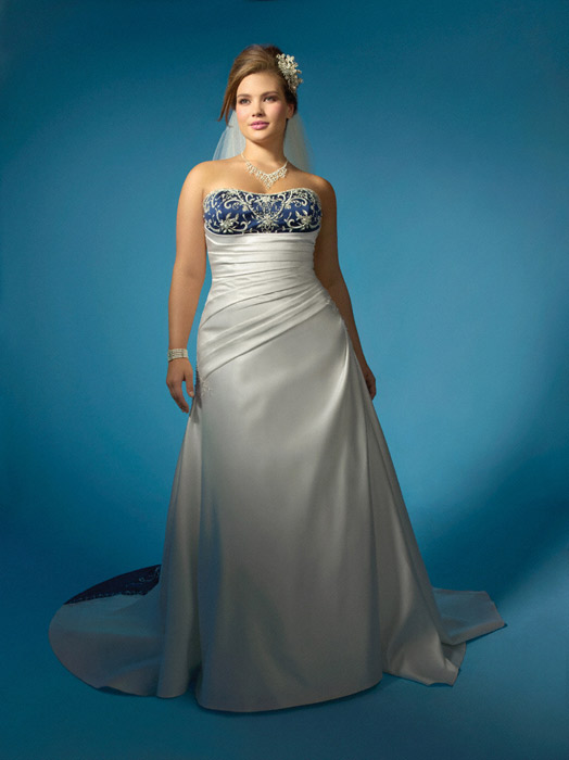 Dream in Color Bridal Collection by Alfred Angelo