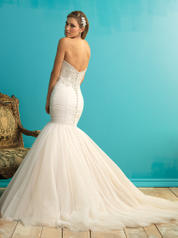 9258 Champagne/Ivory/Silver back