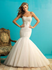 9258 Champagne/Ivory/Silver front