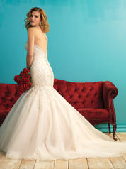 9275 Champagne/Ivory/Silver back