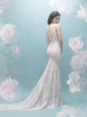 9455 Antique/Ivory/Nude back