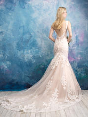 9562 Antique/Champagne/Ivory back