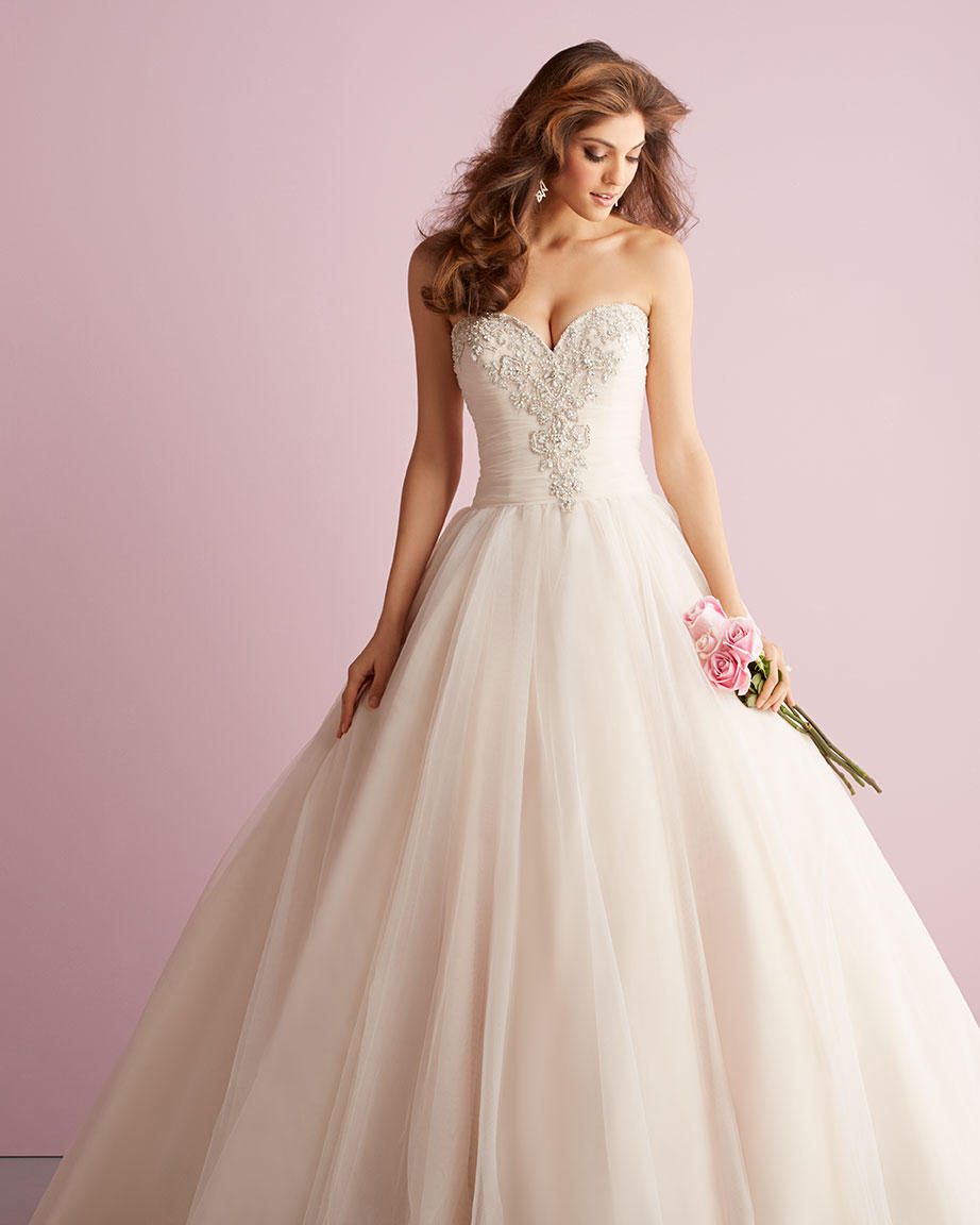 Allure Romance Gowns Prevue Formal And Bridal Allure Bridals