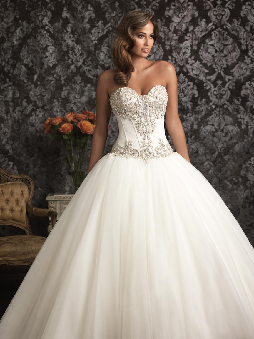 Allure Bridals 9017 Wedding Gowns, Prom Dresses, Formals ...