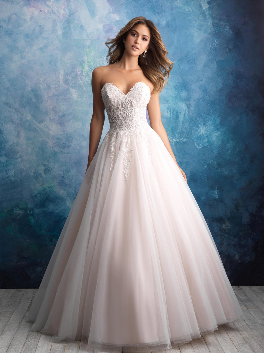 Allure Bridals 9565 2019 Prom Dresses Bridal Gowns Plus Size
