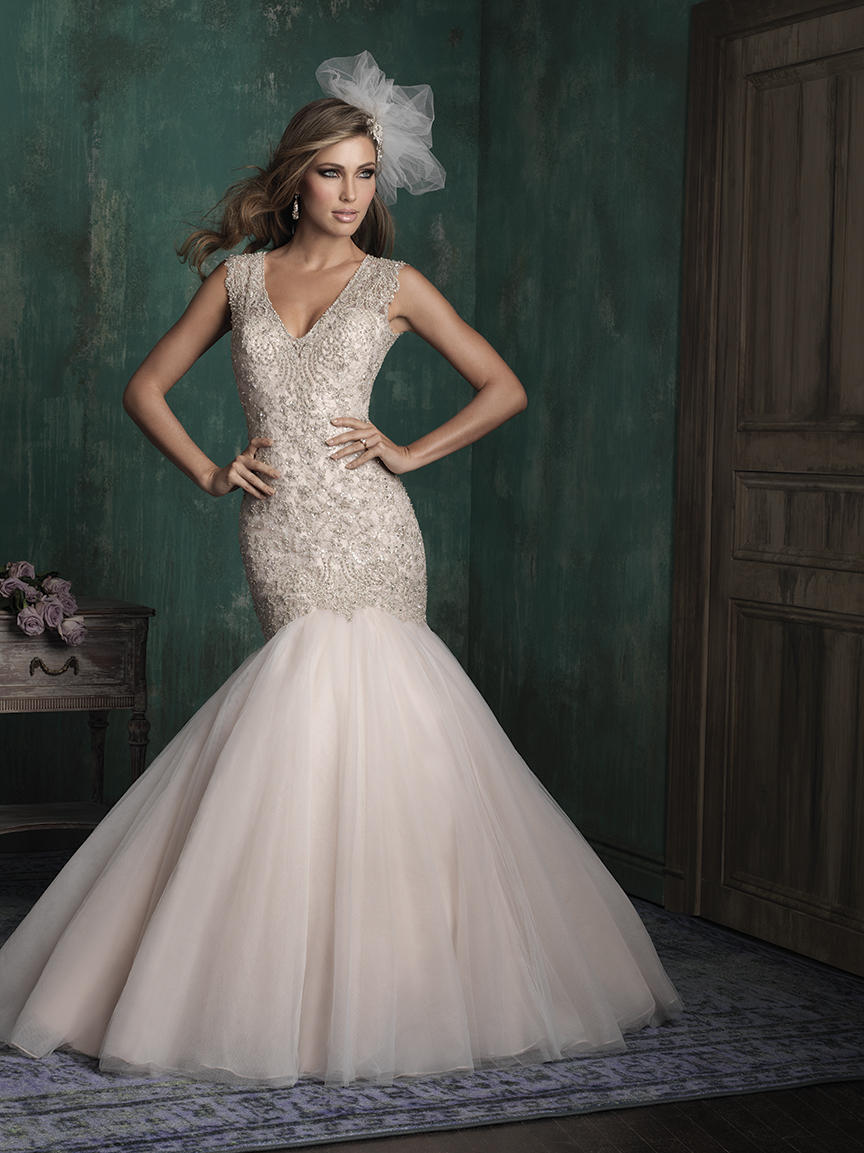 C343 Allure Couture Bridal Dress for Sale - Party Dress Express