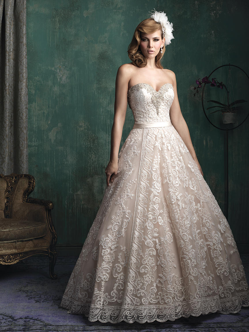 Allure Bridals Couture C349 Wedding Gowns, Prom Dresses, Formals ...