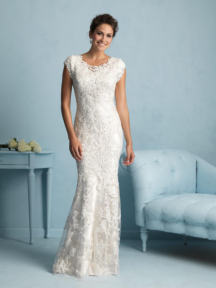 Allure Bridals Modest M536