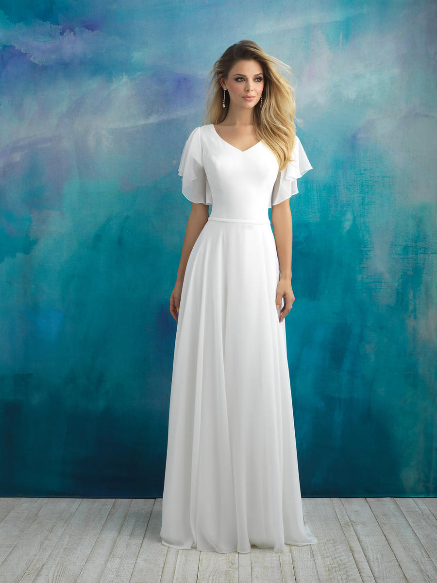 Allure Bridals Modest M595