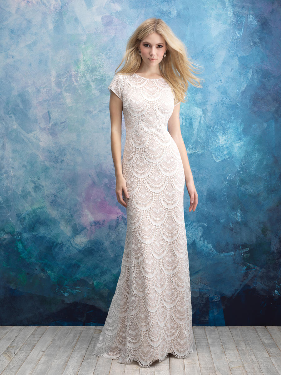 Allure Bridals Modest Merriann