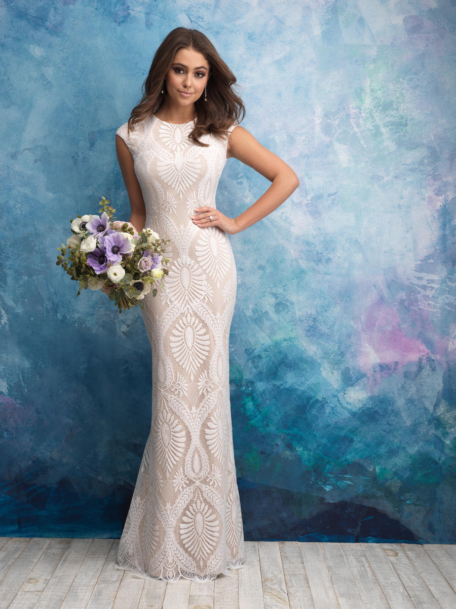 Allure Bridals Modest Roslyn