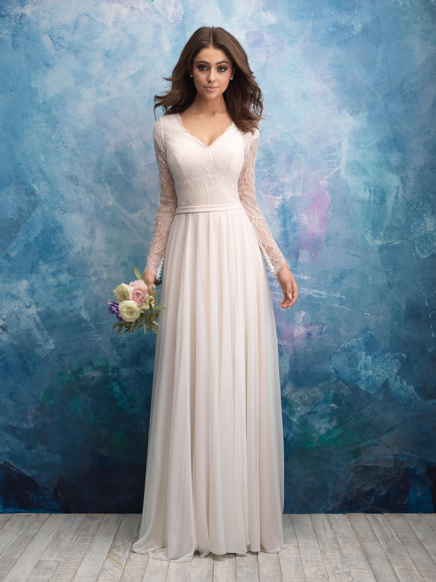 Allure Bridals Modest M605