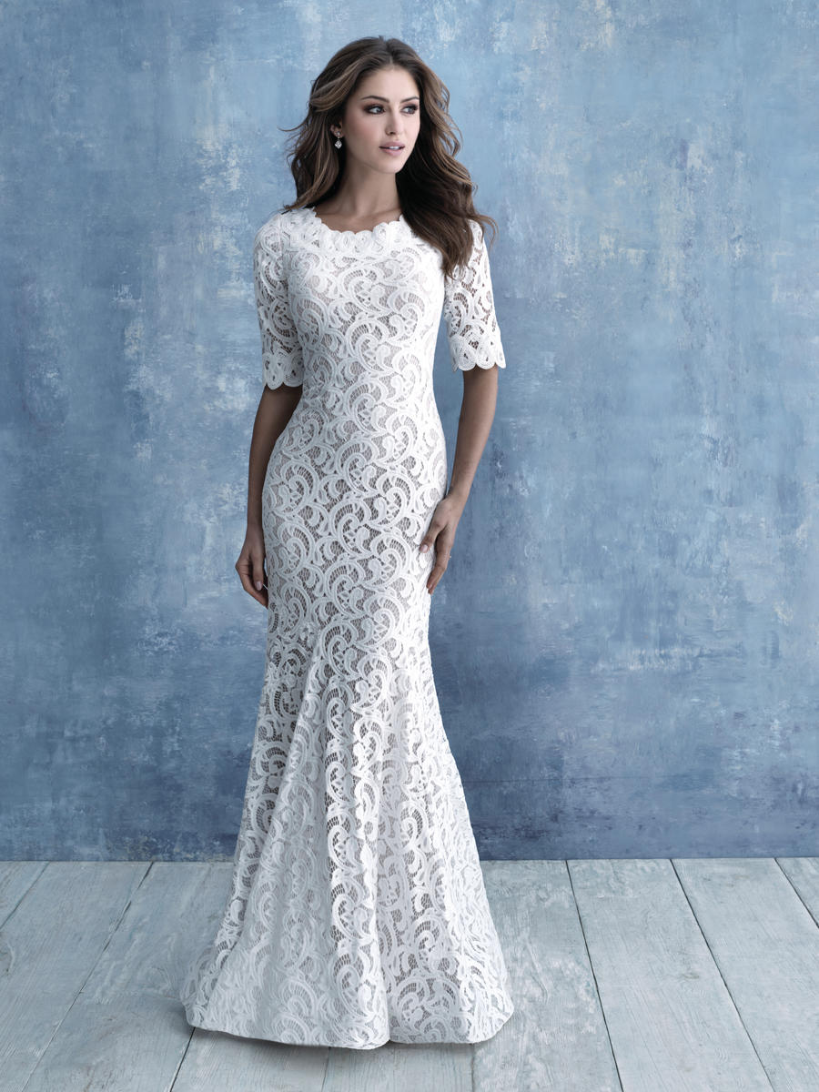 Allure Bridals Modest M638