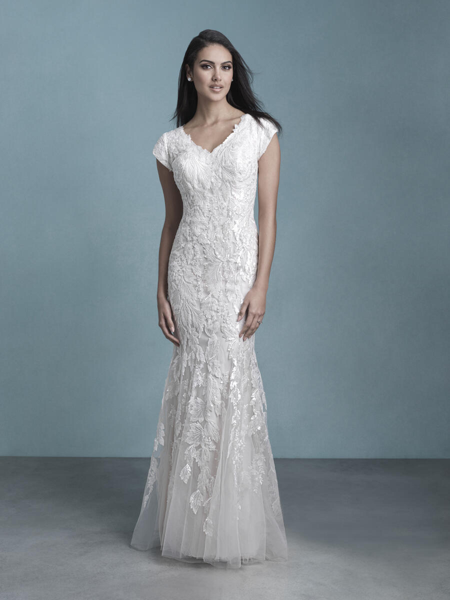 Allure Bridals Modest M657