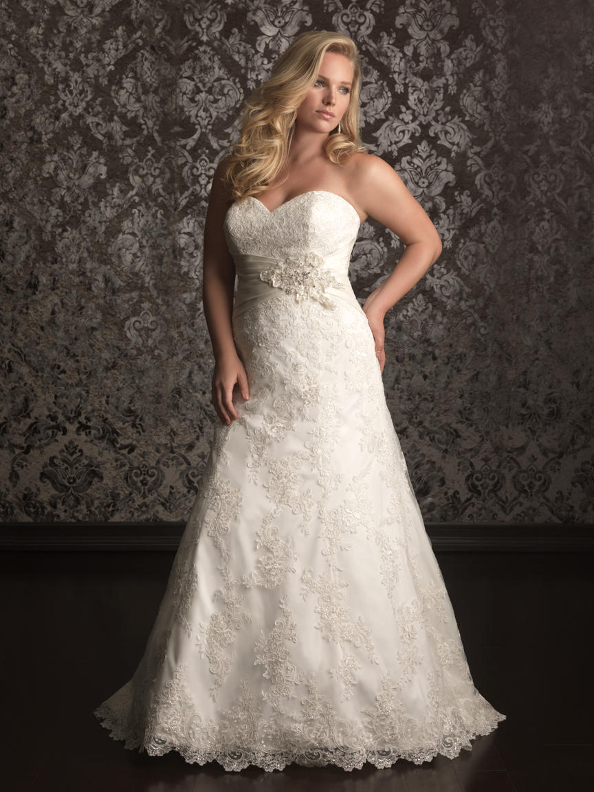Allure Bridal Women Size Colleciton W311