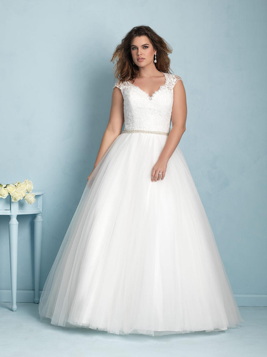Allure Bridal Women Size Colleciton W350