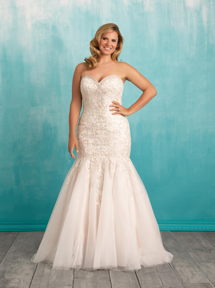 Allure Bridal Women Size Colleciton W375