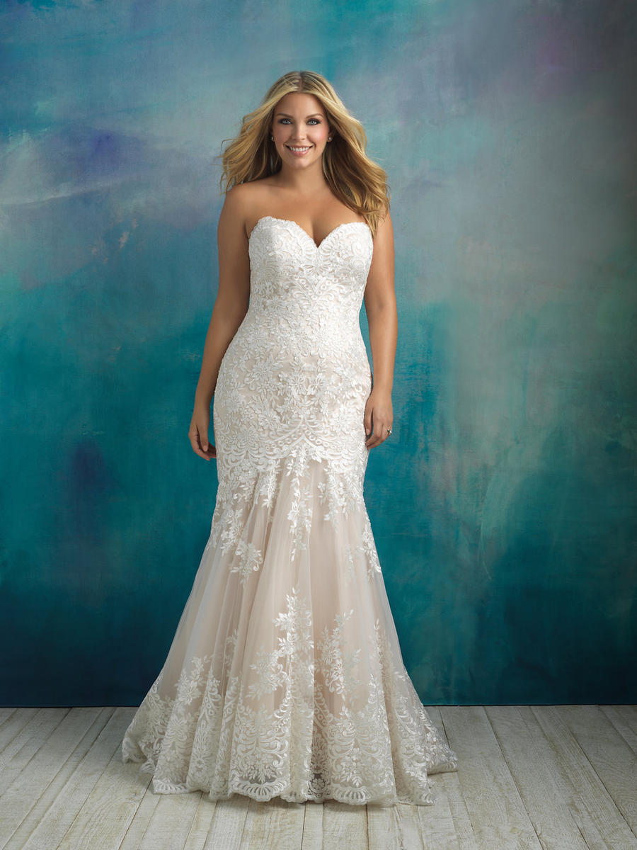 Allure Bridal Women Size Colleciton W410