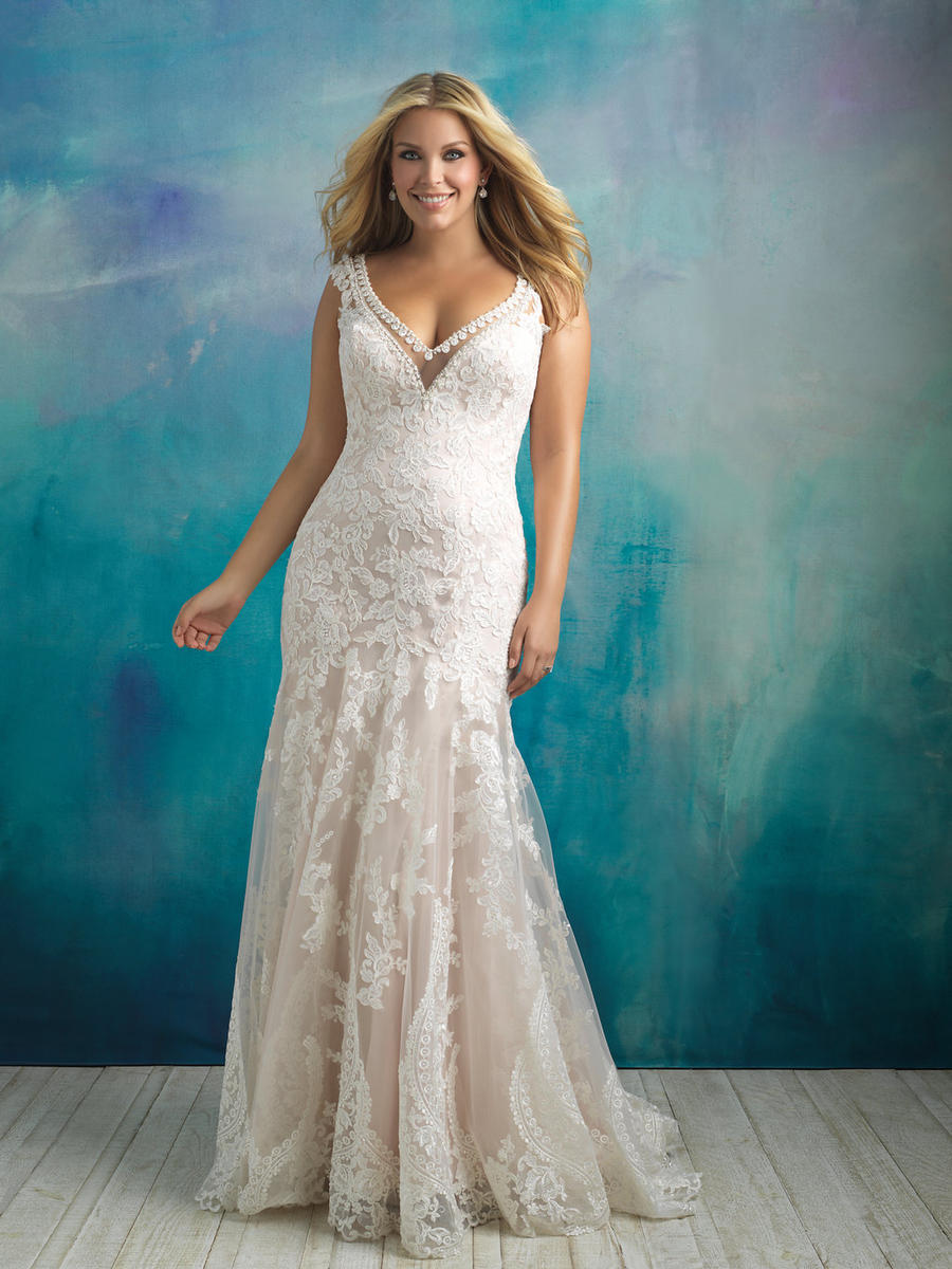 Allure Bridal Women Size Colleciton W411
