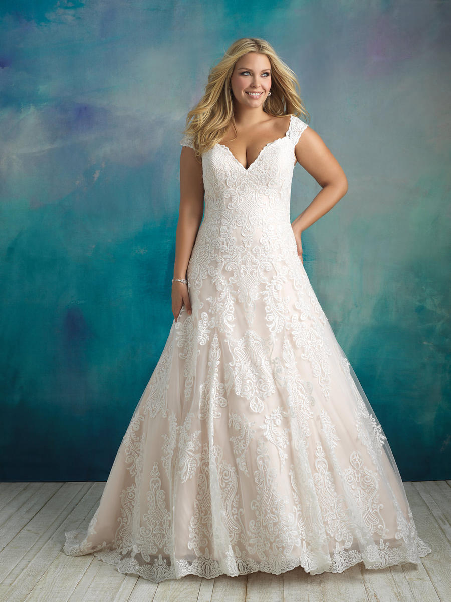 Allure Bridal Women Size Colleciton W416