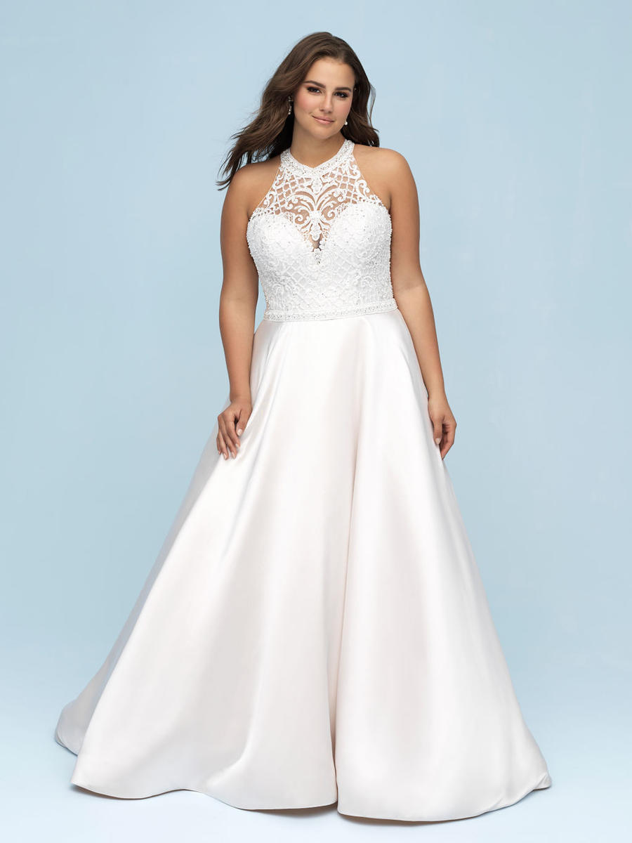Allure Bridal Women Size Colleciton W442