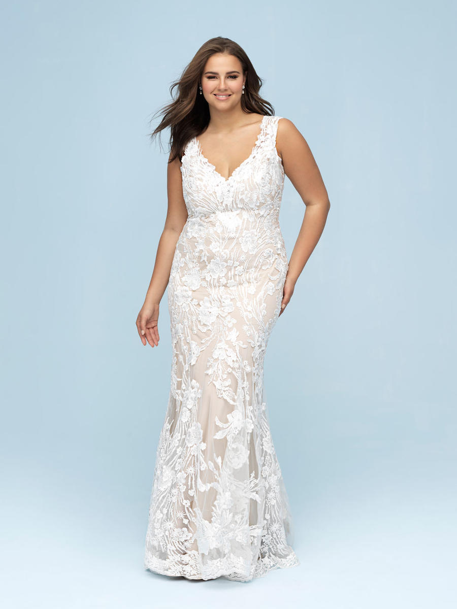 Allure Bridal Women Size Colleciton W443