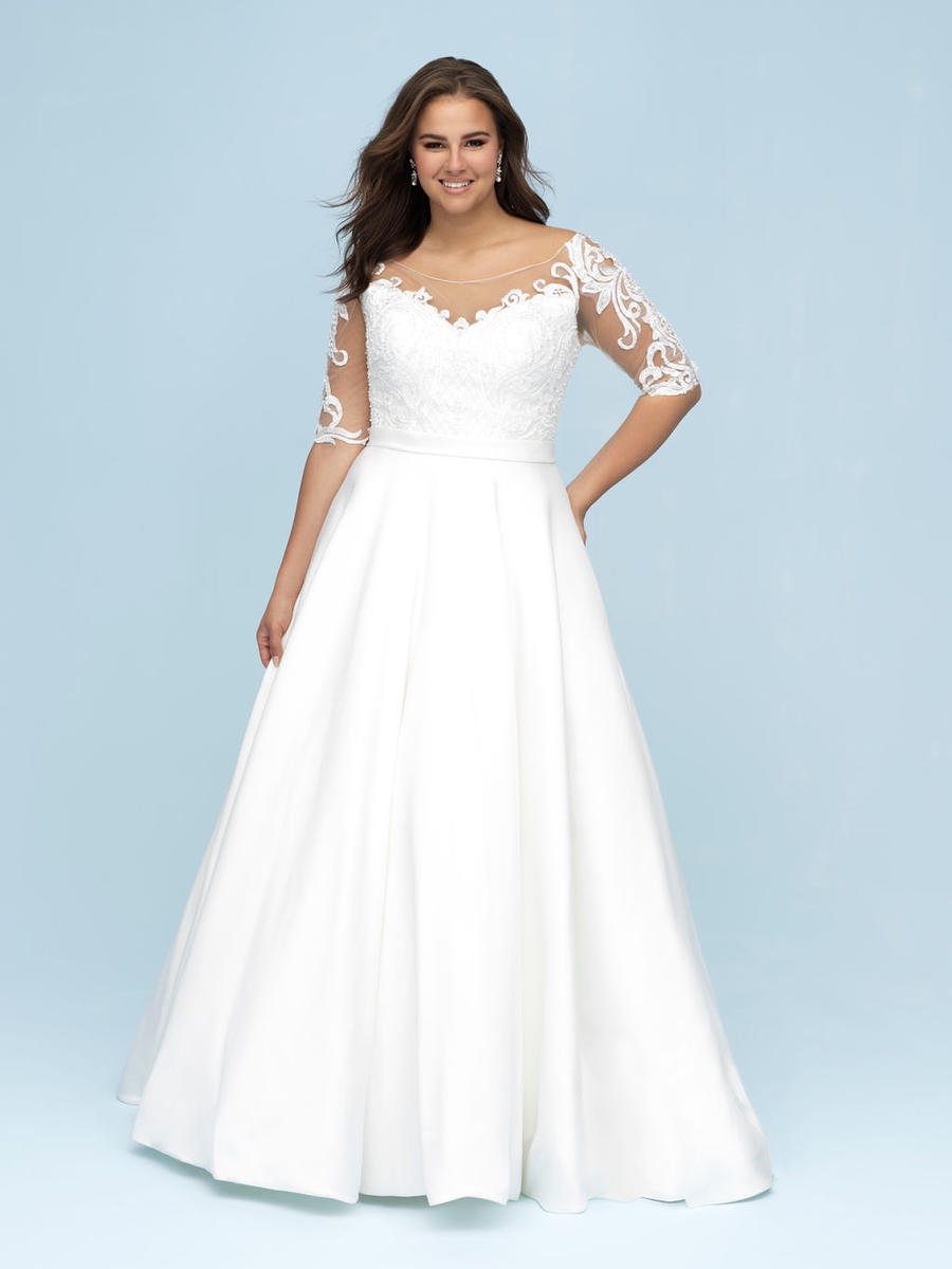 Allure Bridal Women Size Colleciton W445