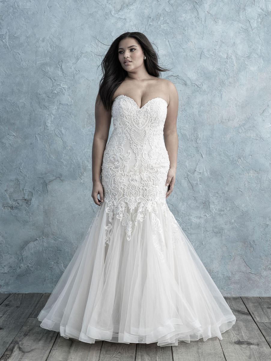 Allure Bridal Women Size Colleciton W451