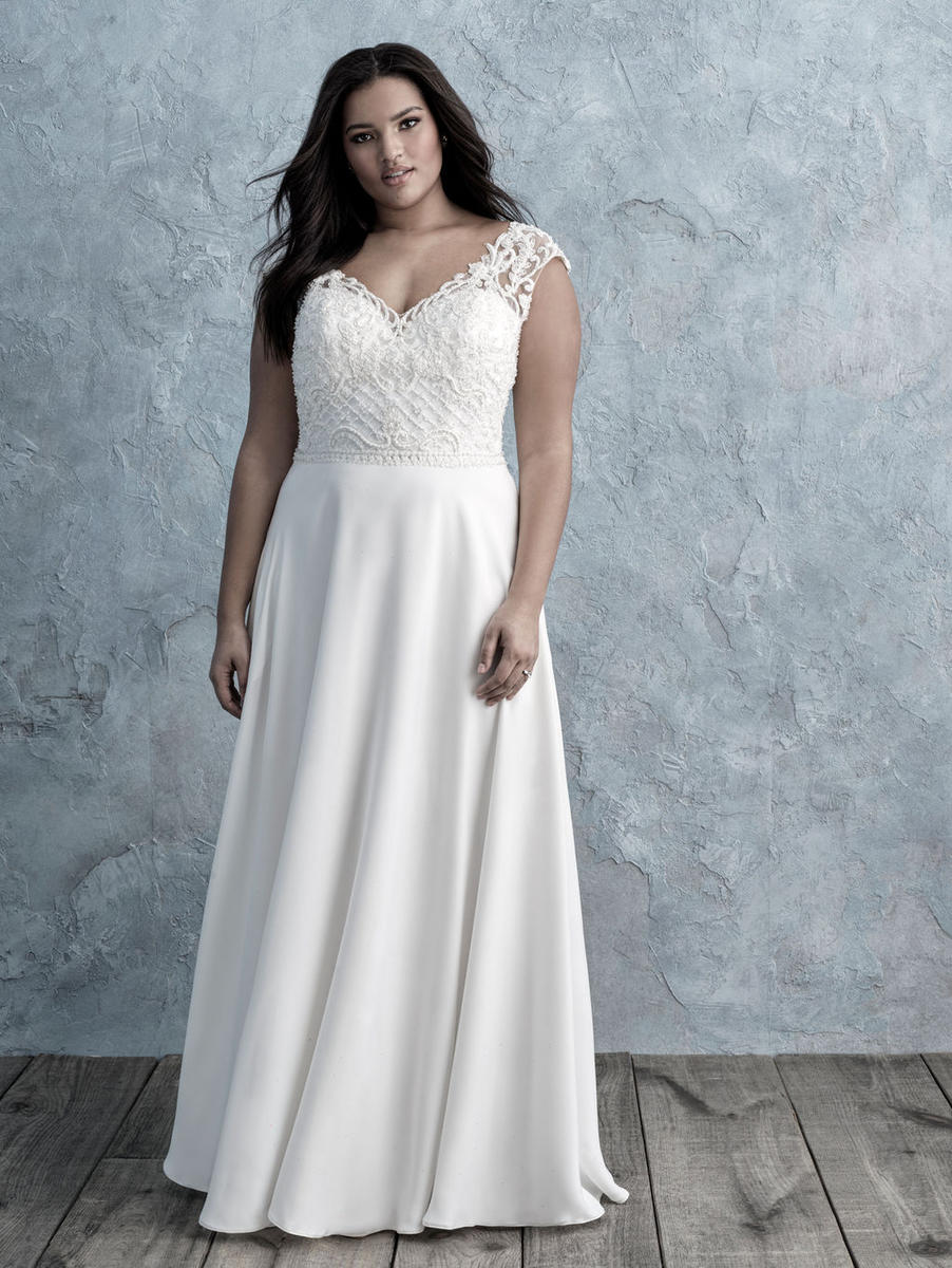 Allure Bridal Women Size Colleciton W452