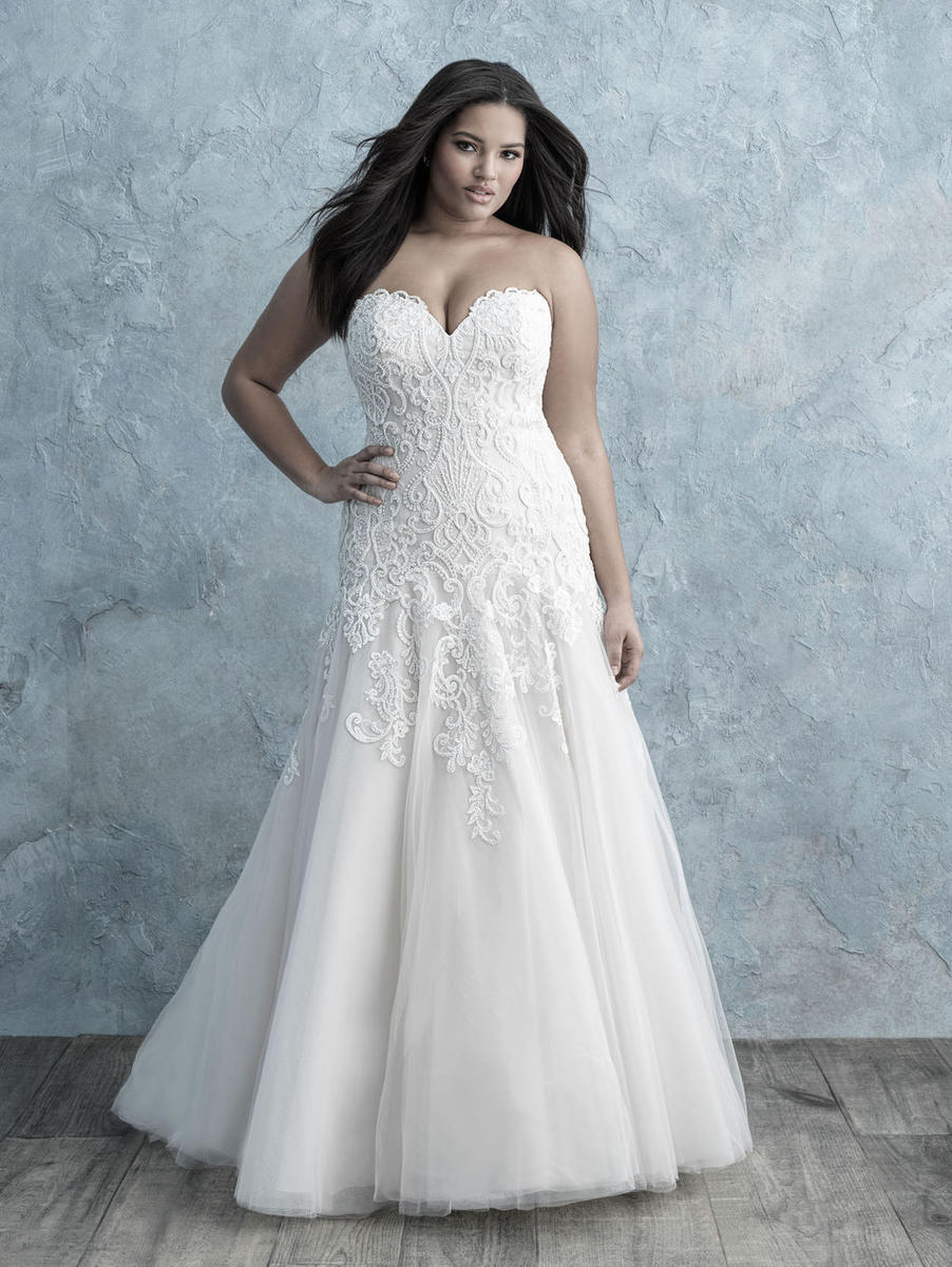 Allure Bridal Women Size Colleciton W455