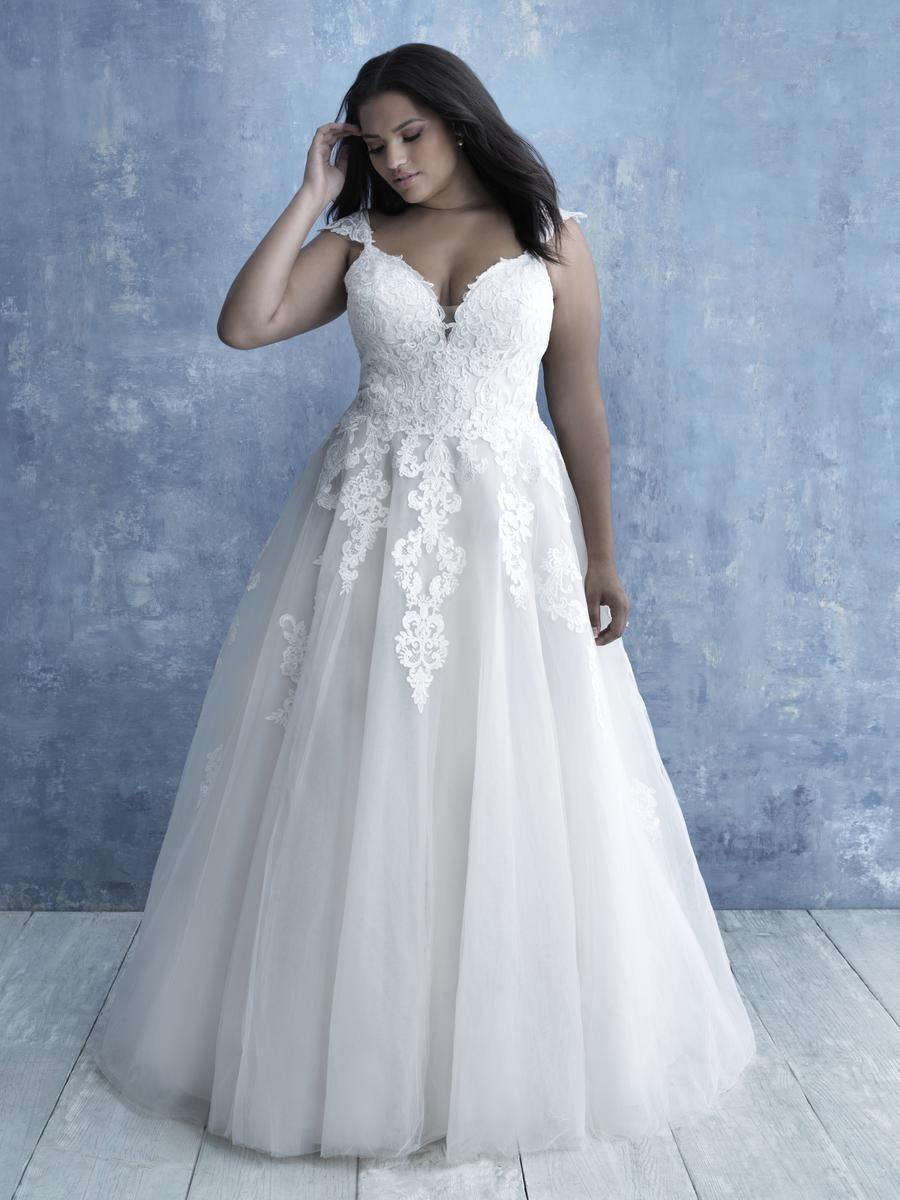 Allure Bridal Women Size Colleciton W467