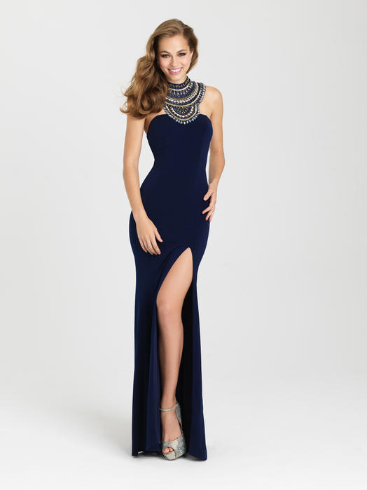Madison James Navy Size 6