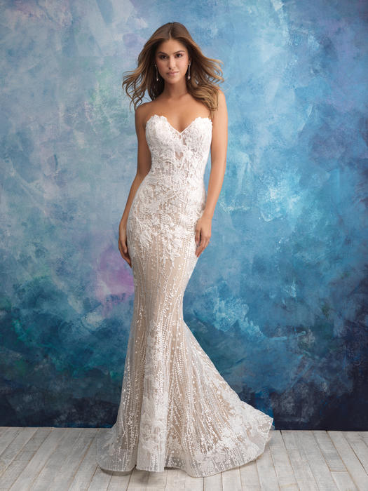 Ediths Bridal Wisconsins Largest Wedding Center Mori Lee Allure