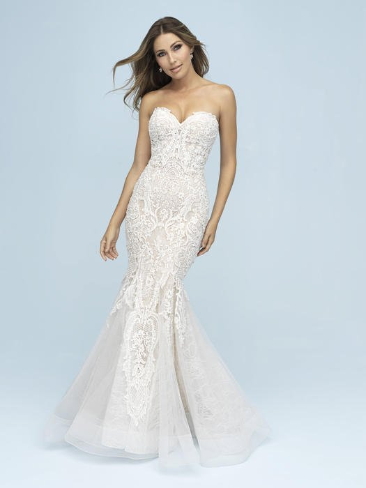 Allure - Strapless Sweetheart Mermaid Bridal Gown