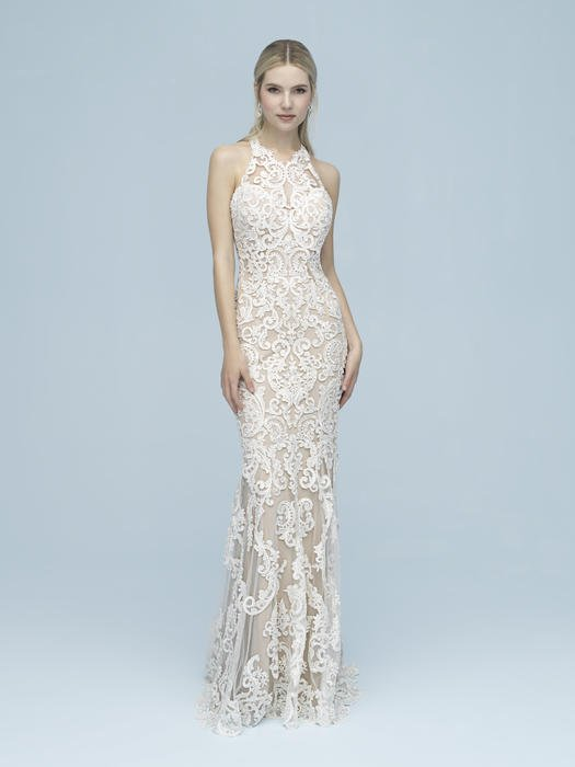 Allure - Illusion Halter Bridal Gown