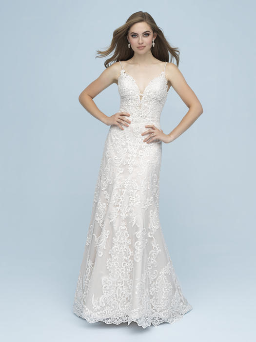 Allure - Lace V-Neck Bridal Gown