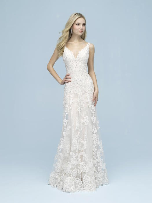 Allure - V-Neck Lace Bridal Gown