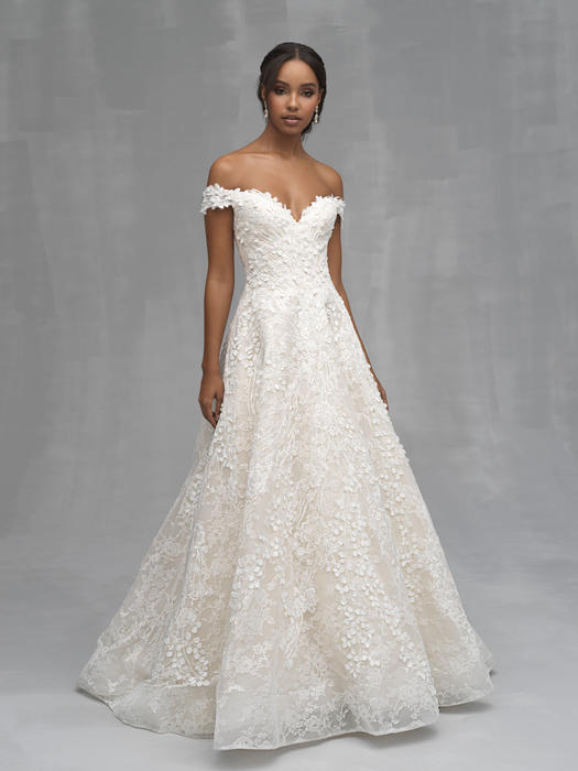 Allure - Off-Shoulder Lace Bridal Gown