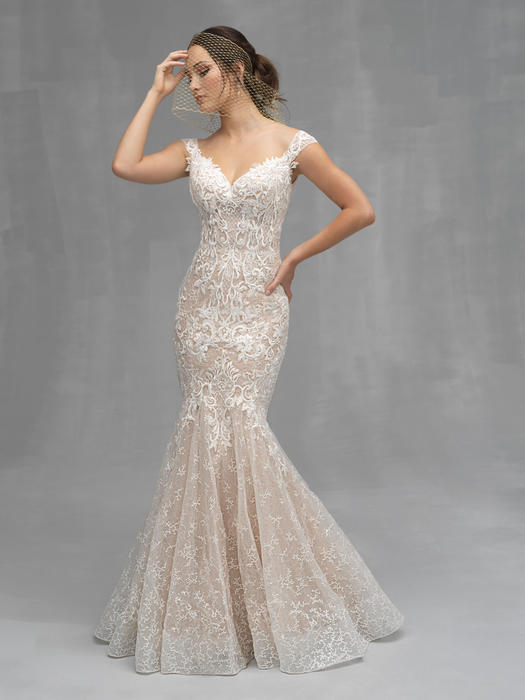 Allure - Mermaid Off-Shoulder Bridal Gown
