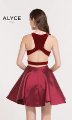 2648 Wine Red back