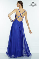 35768 Sapphire/Nude back