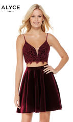 4038 Black Cherry detail