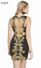 4083 Black/Gold back