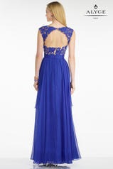 5743 Sapphire/Nude back